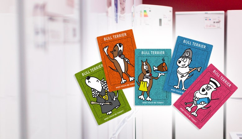 Bull Terrier Fridge Magnets